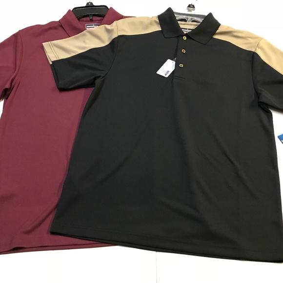 f194665c2 Lot Of 2 Grand Slam Performance Polo Shirts NEW
